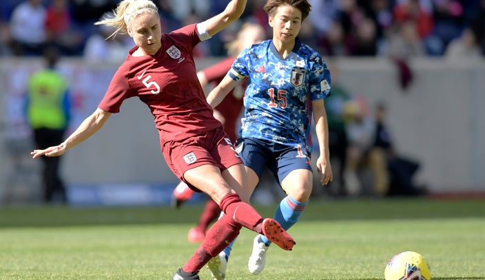 England tops Japan in SheBelieves Cup at Red Bull Arena