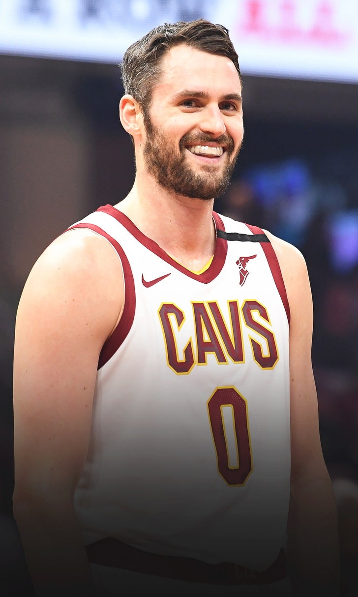 Kevin Love Steals The Show