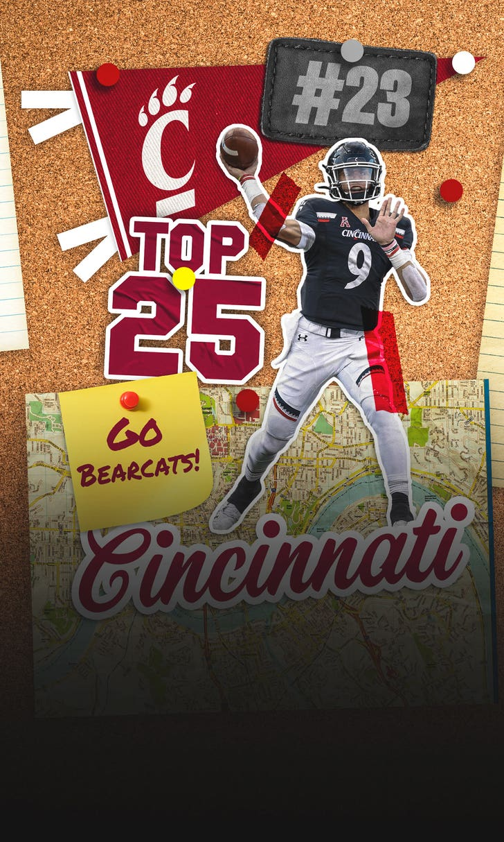 FOX Sports Top 25: No. 23 Cincinnati