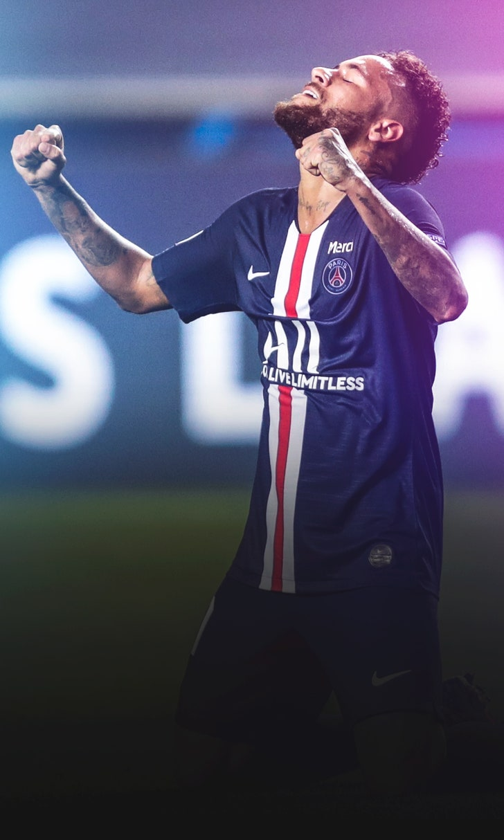 Neymar, PSG Headed To UCL Final