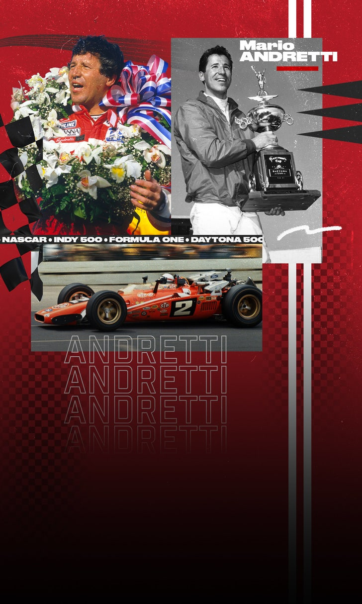 Mario Andretti Joins 'Off Track'