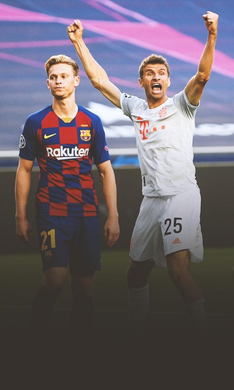 Bayern Munich Routs Barcelona