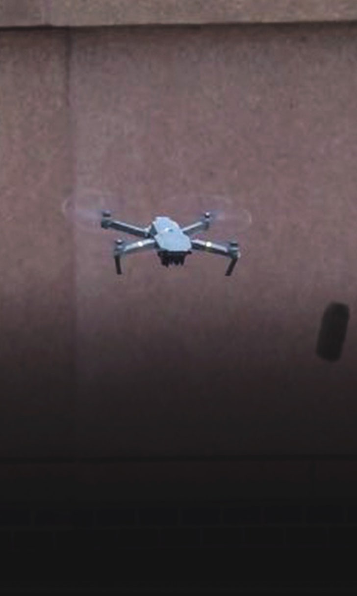 Drone Causes Delay in Pirates-Twins