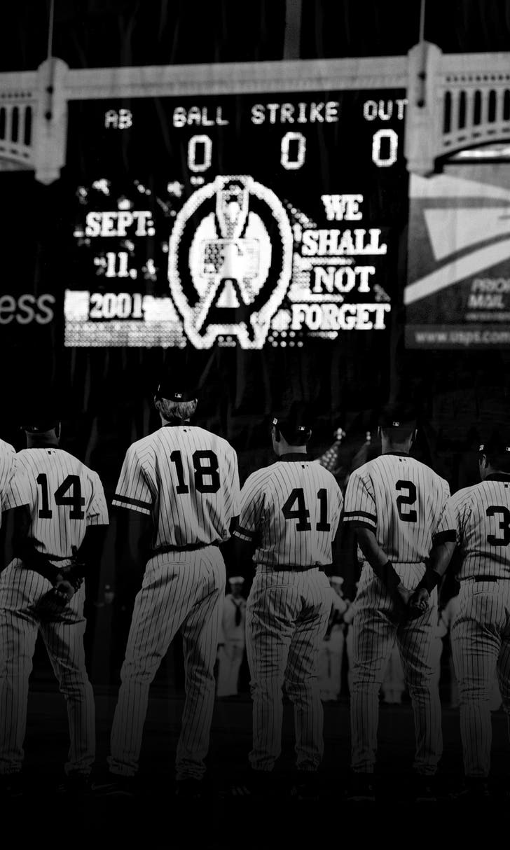 Sports World Pays Respects on 9/11