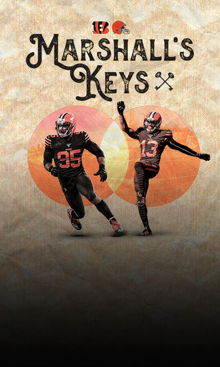 Marshall's Keys: Browns vs. Bengals
