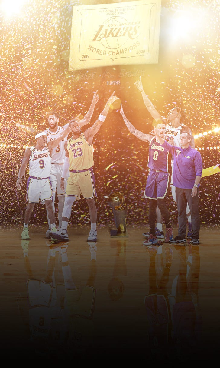 Lakers Win Record-Tying Championship | FOX Sports