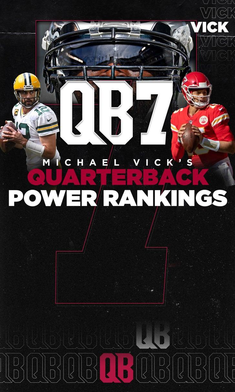 QB7: Vick's Midseason QB Rankings