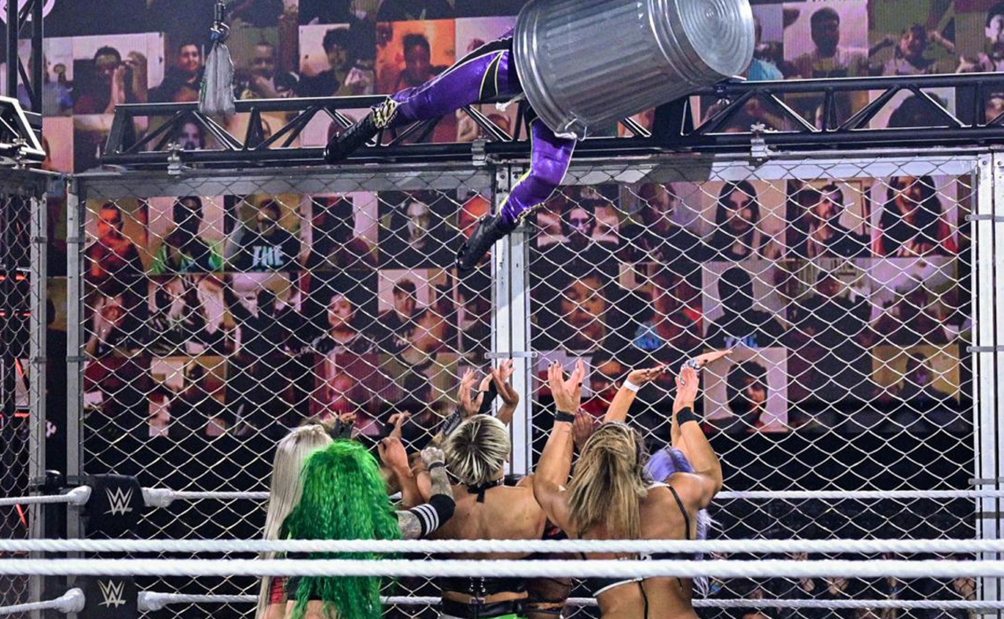 NXT Women Steal The Show At WarGames   FOX Sports