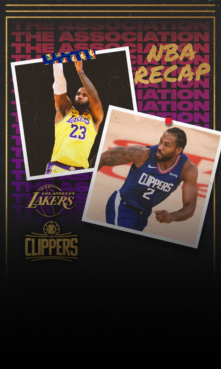Clippers Spoil Lakers' Ring Night