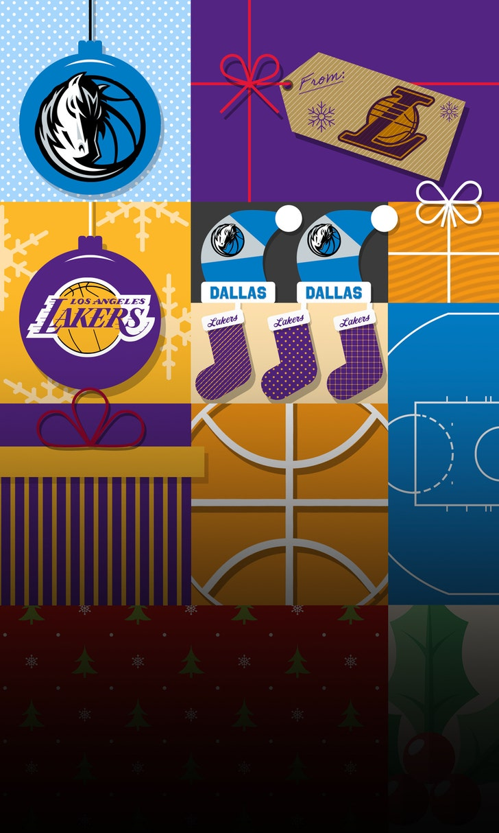 LBJ Makes Holiday History in Lakers Win