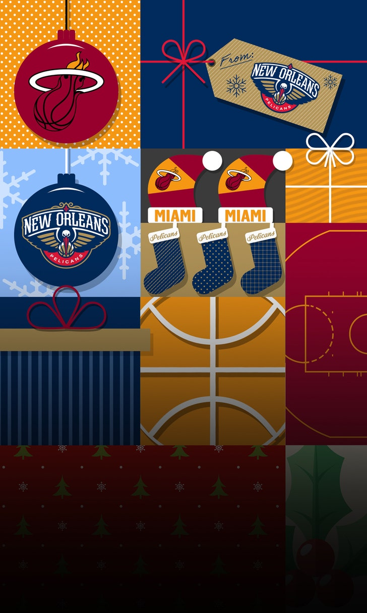 Heat Burn Pelicans To Open Christmas Day
