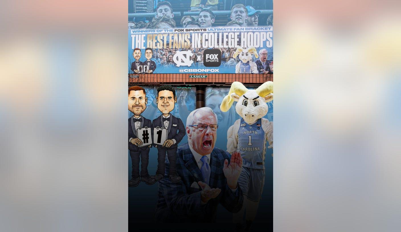 North Carolina Fans Get Their Prize