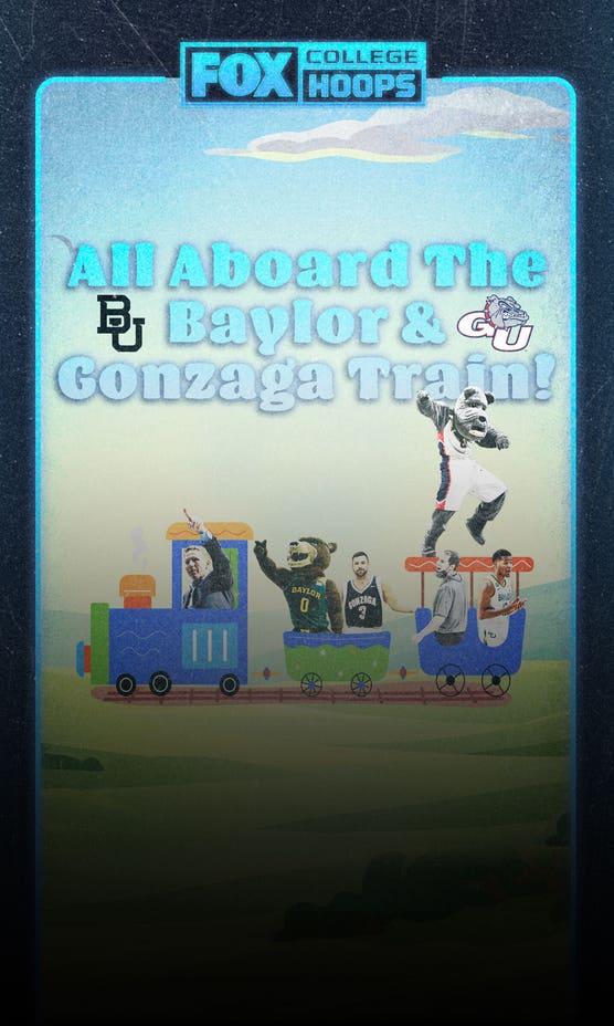 All Aboard the Baylor & Gonzaga Train