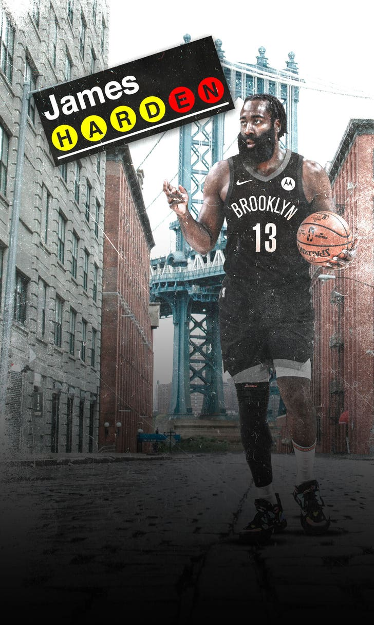 Blockbuster Sends Harden To Brooklyn