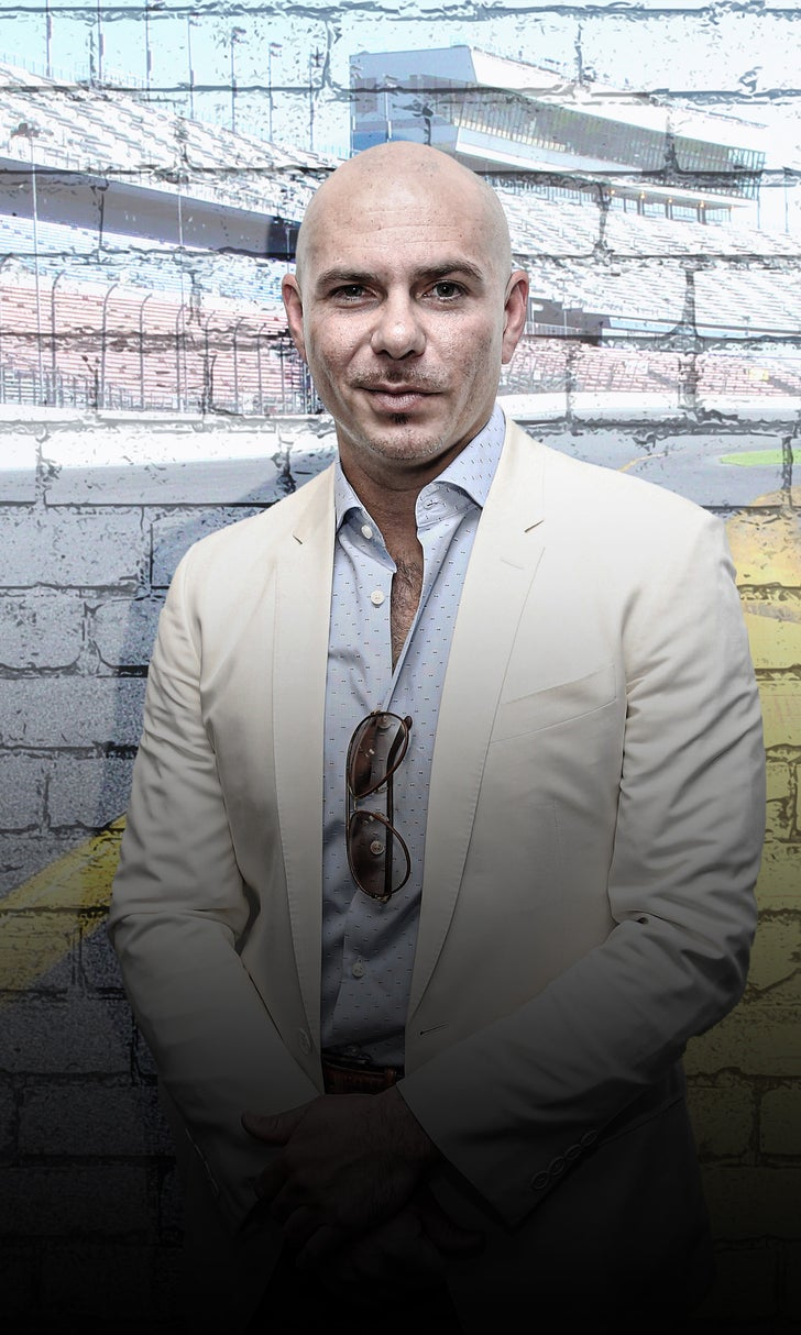 NASCAR Goes Worldwide With Pitbull