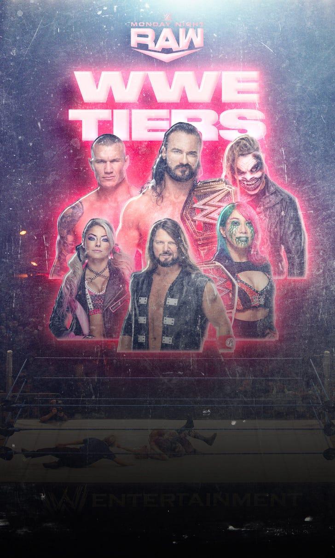 Ryan Satin's WWE Raw Tier List 1.0