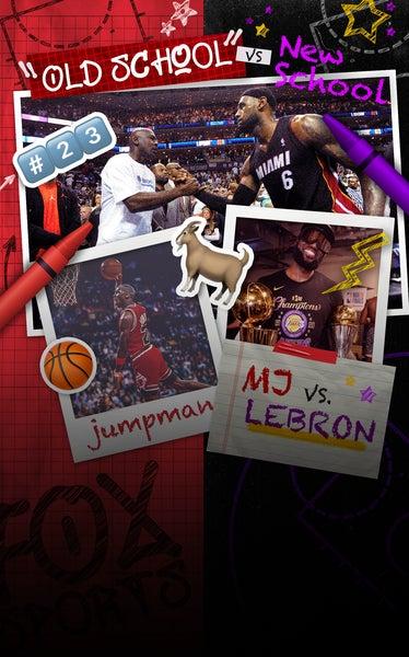 Old School vs. New School: MJ or LeBron?