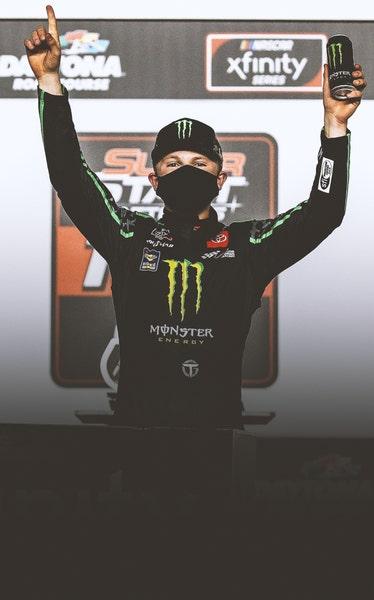 Gibbs Wins Xfinity Debut