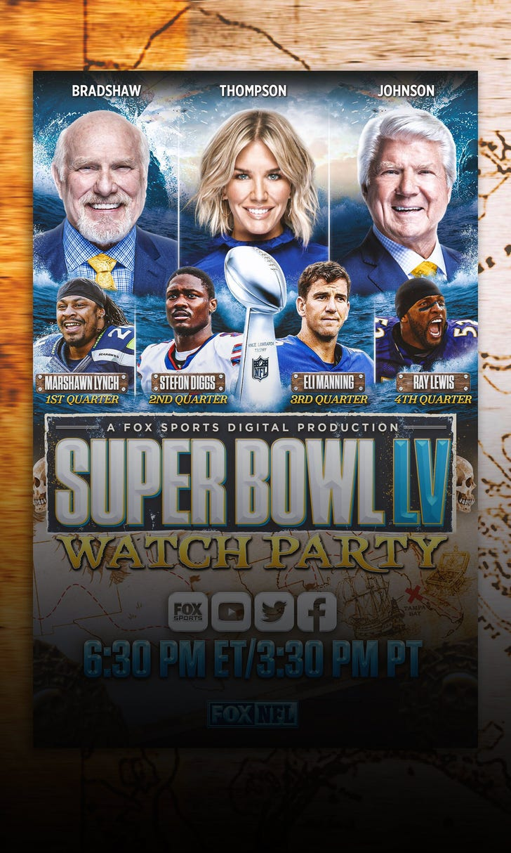 Relive The Super Bowl LV Watch Party