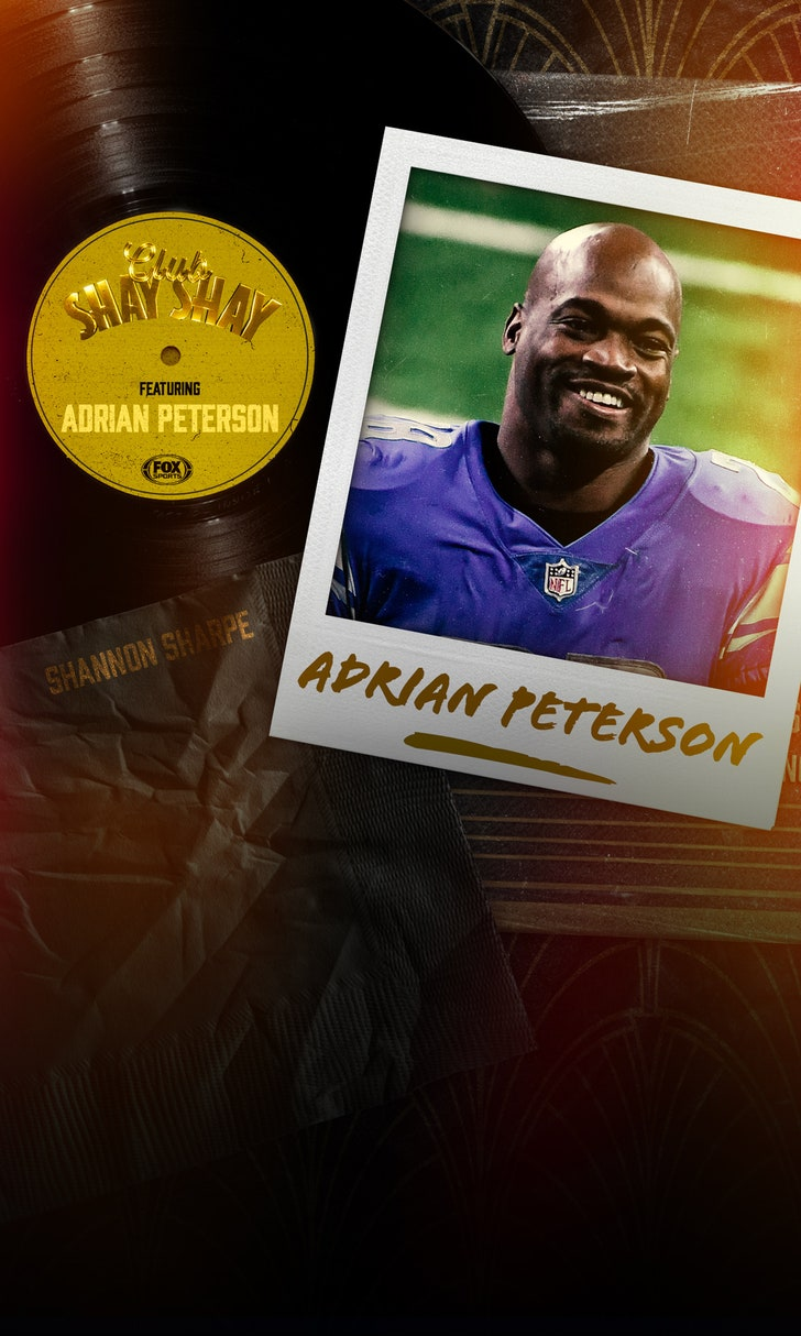 Adrian Peterson Enters 'Club Shay Shay'