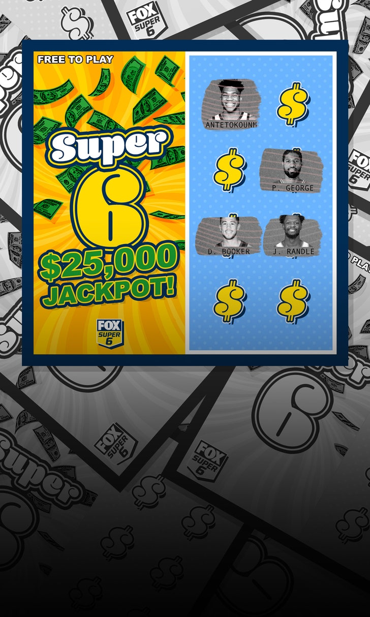 Win $25,000 in NBA Super 6!