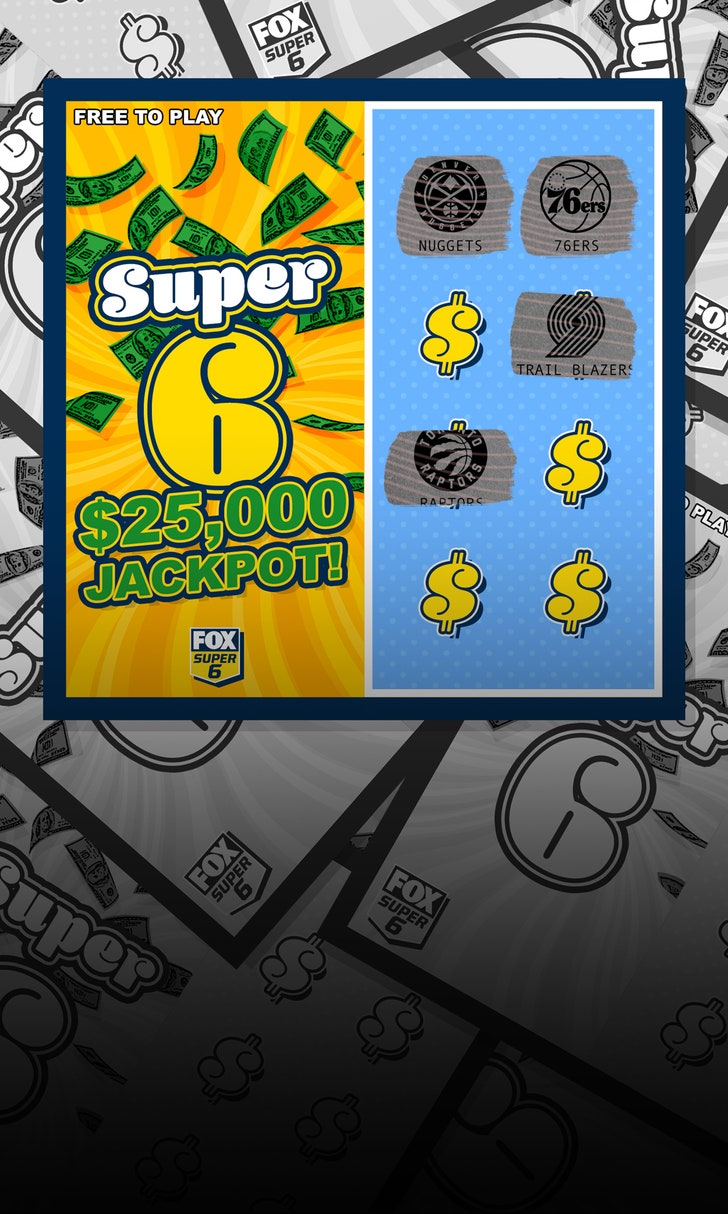 Win $25,000 with NBA Super 6