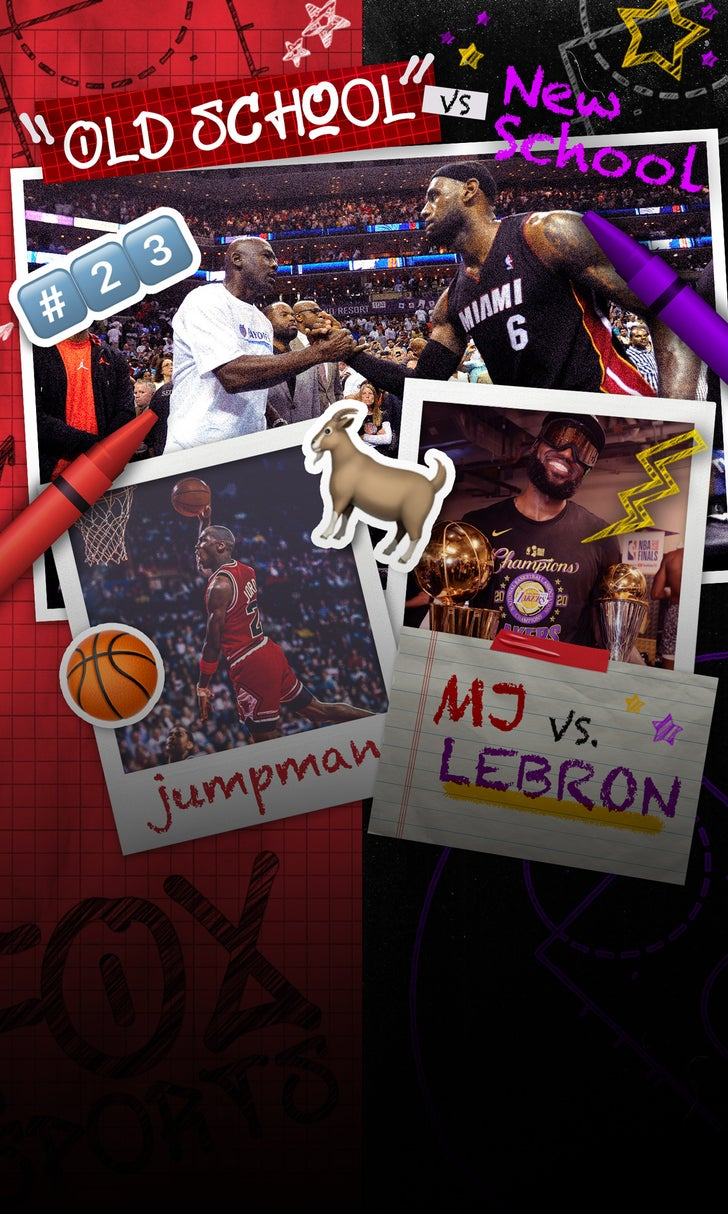 Old School vs. New School: MJ or LeBron?