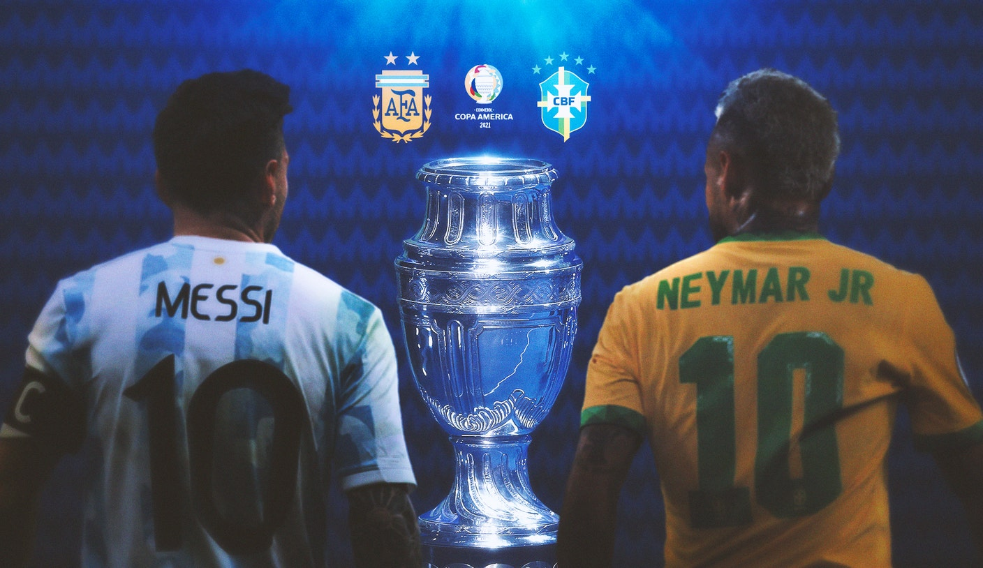 Copa América final: What to know about Messi's Argentina vs. Neymar's Brazil