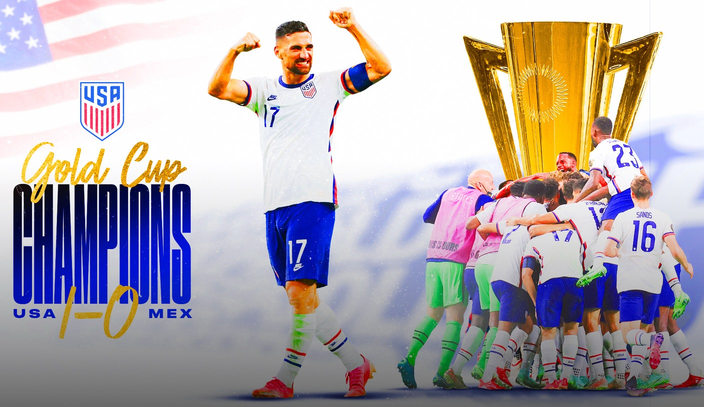 USMNT makes an impressive statement with win over Mexico in Gold Cup final