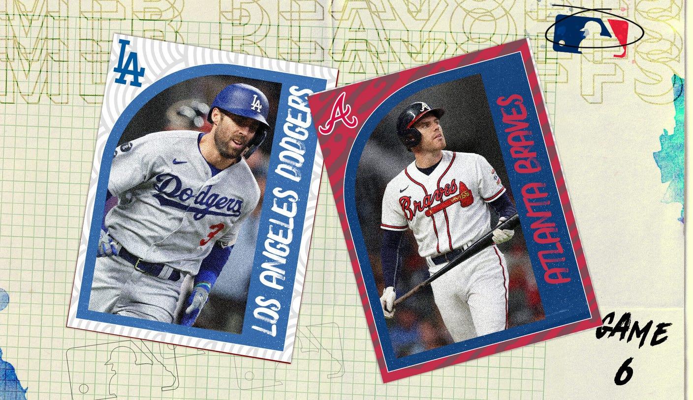 MLB Playoffs top plays: Los Angeles Dodgers vs. Atlanta Braves NLCS Game 6