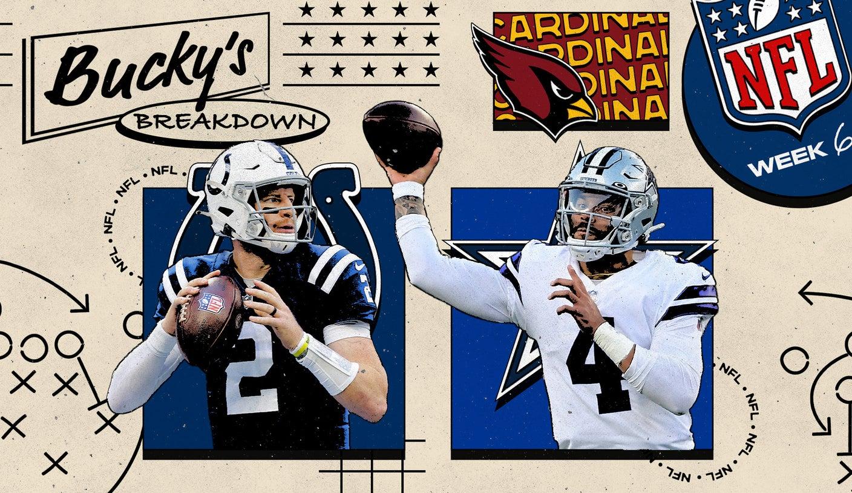 Bucky's Breakdown: Cardinals keep winning, Ravens keep running, Dak Prescott keeps dazzling