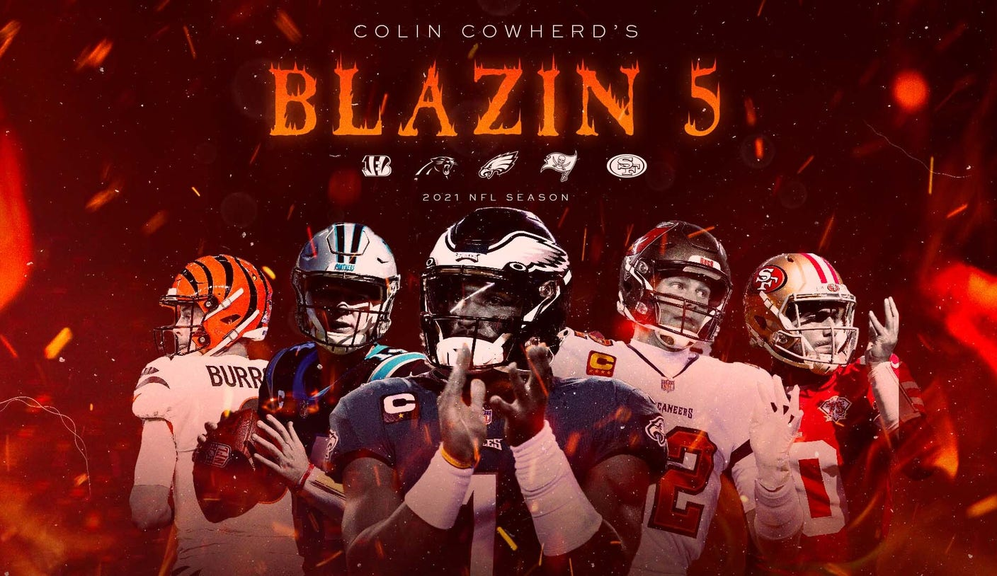 Colin Cowherd's Blazin' 5 Week 7 picks, including Bengals, Eagles and 49ers