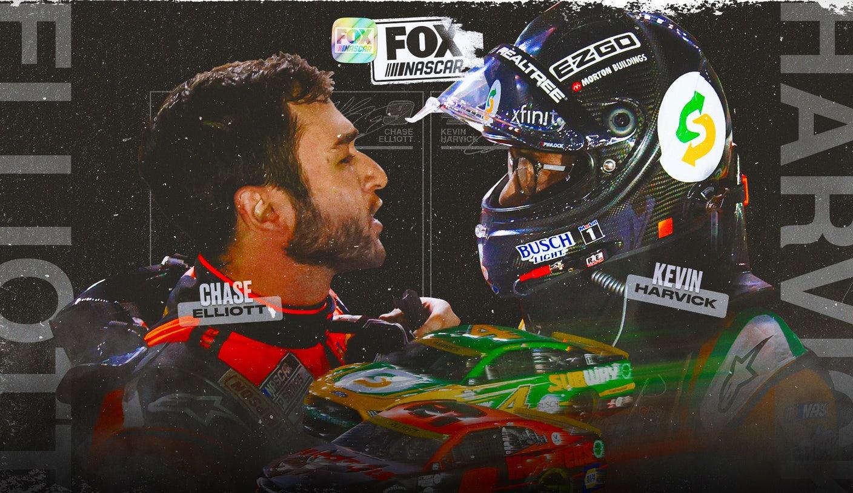 Harvick vs. Elliott and Earnhardt vs. Gordon: NASCAR's best rivalries between old and young